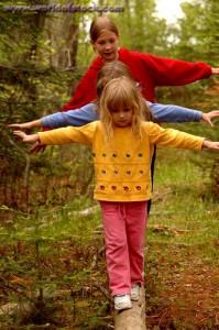 kids balancing